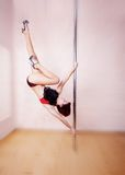 Pole-dance Royalty Free Stock Images