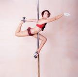 Pole-dance Royalty Free Stock Photos