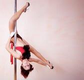 Pole-dance Stock Photo