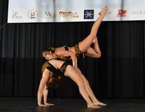 POLE DANCE  ART CHAMPIONSHIP Stock Photography