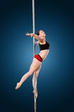 Pole dance Royalty Free Stock Image