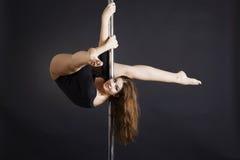 Pole dance Royalty Free Stock Photos