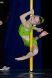 POLE DANCE  CHAMPIONSHIP - Baby Stock Image