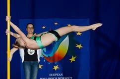 POLE DANCE  CHAMPIONSHIP - Junior Royalty Free Stock Image
