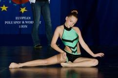 POLE DANCE  CHAMPIONSHIP - Junior Stock Image
