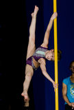 POLE DANCE  CHAMPIONSHIP - Junior Royalty Free Stock Photo
