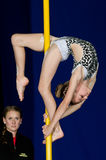 POLE DANCE  CHAMPIONSHIP - Junior Royalty Free Stock Images