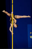 POLE DANCE  CHAMPIONSHIP - Junior Royalty Free Stock Photos