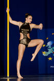 POLE DANCE  CHAMPIONSHIP - Women Royalty Free Stock Image