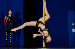 POLE DANCE  CHAMPIONSHIP - Women Royalty Free Stock Images