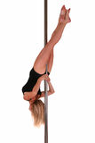 Pole dance fitness Royalty Free Stock Photo