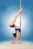 Pole dance Stock Photo