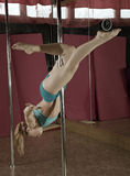 Pole Dance. Stock Images