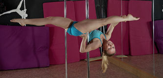 Pole Dance. Royalty Free Stock Image