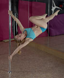 Pole Dance. Stock Photos
