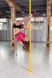 Pole dance instructor Royalty Free Stock Photography
