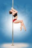 Pole dance Stock Image