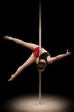 Pole dance Stock Images