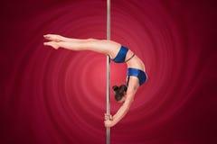 Pole dance Royalty Free Stock Image