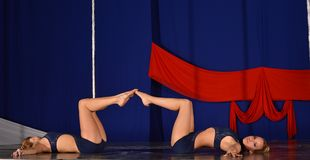 POLE DANCE  WORLD CHAMPIONSHIP - Doubles Royalty Free Stock Image
