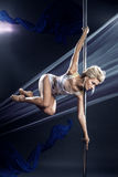Pole dance Royalty Free Stock Photos