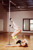 Pole dance Stock Image