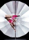 Pole dancer Royalty Free Stock Photo