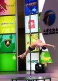 pole dancing Stock Photography