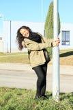 Pole dancing Royalty Free Stock Photo
