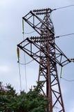 pole elektryczne Obrazy Stock