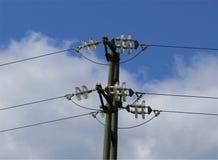 pole elektryczne Zdjęcie Stock