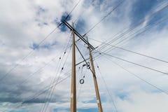 pole elektryczne Fotografia Stock