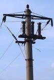 pole elektryczne użyteczności Fotografia Stock