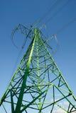 pole energii elektrycznej Zdjęcia Royalty Free