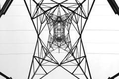 pole energii elektrycznej Obrazy Stock