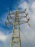 pole energii elektrycznej Zdjęcia Stock