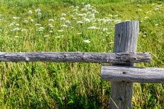Pole Fence Royalty Free Stock Image