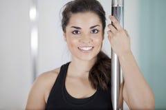 Pole fitness is fun Stock Photos