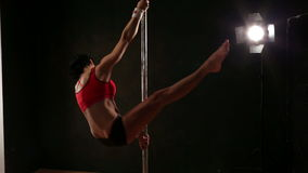 Pole Fitness stock video