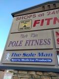 Pole Fitness stock photos