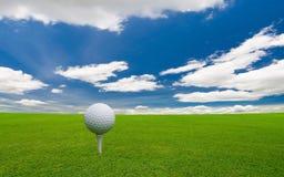 Pole golfowe Zdjęcie Stock