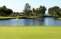 Pole golfowe Zdjęcia Royalty Free