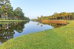 Pole golfowe Obraz Royalty Free