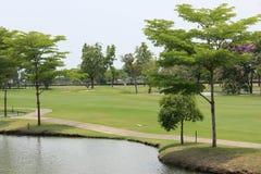 Pole golfowe Obrazy Stock