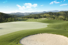 Pole golfowe Fotografia Royalty Free