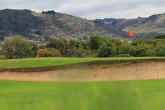 Pole golfowe Zdjęcia Stock