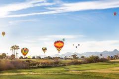 Pole Golfowe balony Zdjęcie Royalty Free