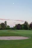 Pole golfowe Cardiff fotografia royalty free