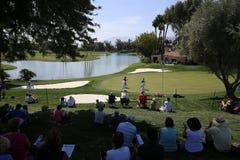 Pole golfowe przy ANA inspiraci golfa turniejem 2015 Zdjęcie Royalty Free