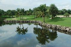 Pole golfowe w Tajlandia Fotografia Royalty Free